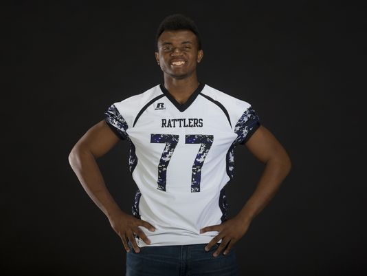 Phoenix North Canyon star Austin Jackson will play in the U.S. Army All-American Bowl next January. (Photo: Tom Tingle/azcentral sports)