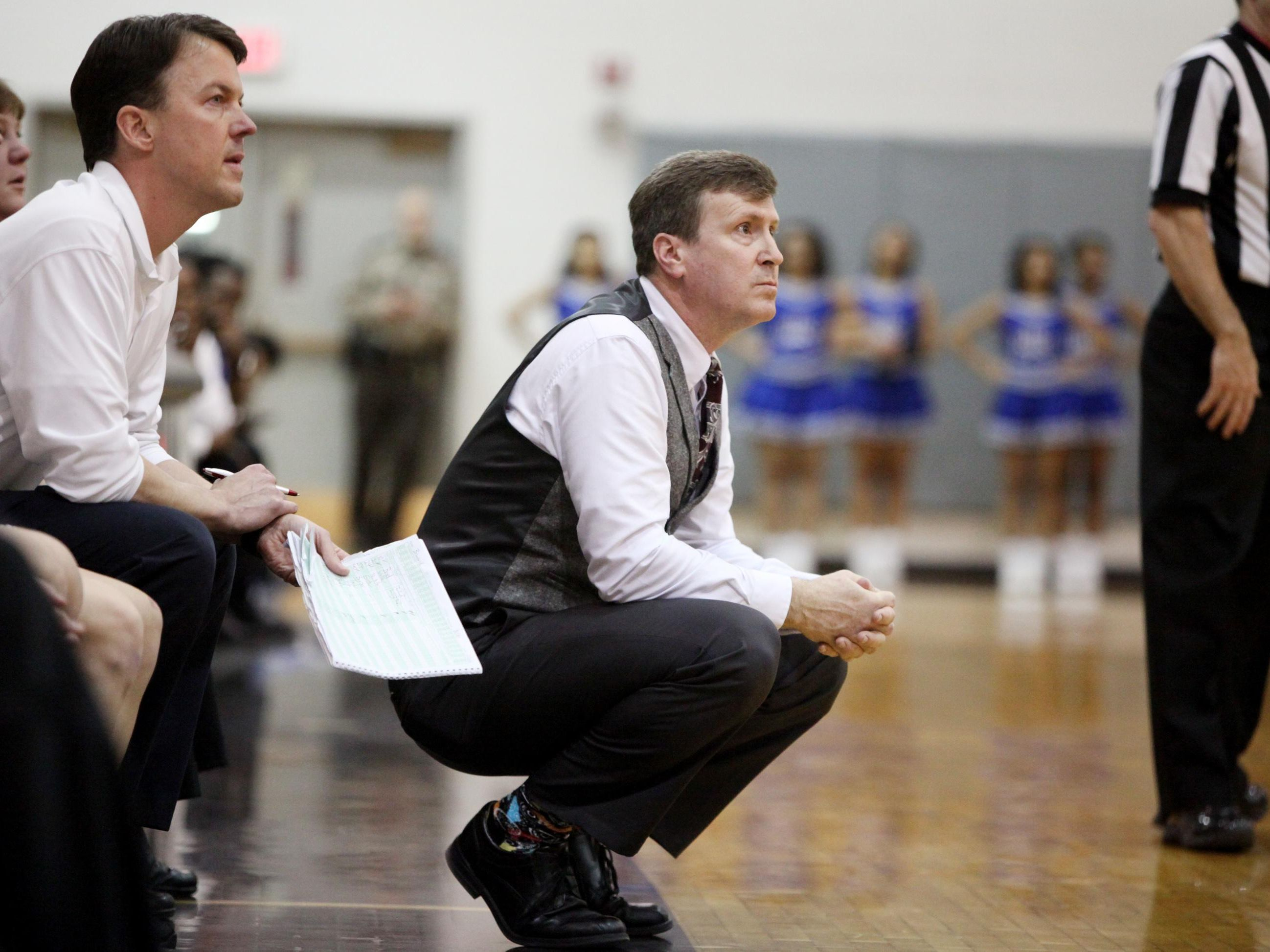 Buffalo Gap's Phillip Morgan, the All-City/County Girls Basketball Coach of the Year, guided the Bison to a 20-win season and a berth in the Group 2A state tournament.