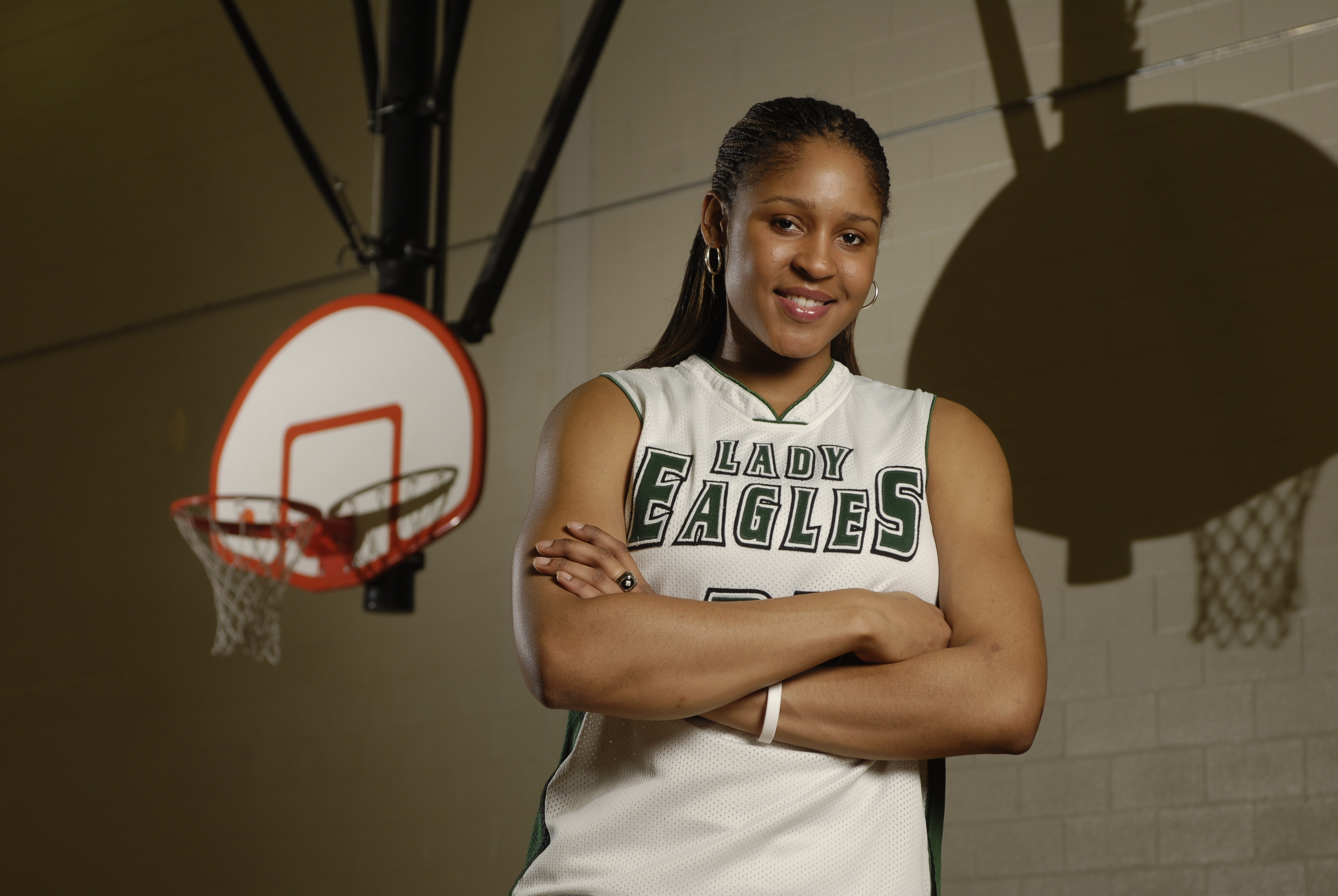 Maya Moore of Collins Hill High in Suwanee, Ga., was named to the American Family Insurance ALL-USA Team in 2007 (Photo: Michael A. Schwarz, USA TODAY Sports)