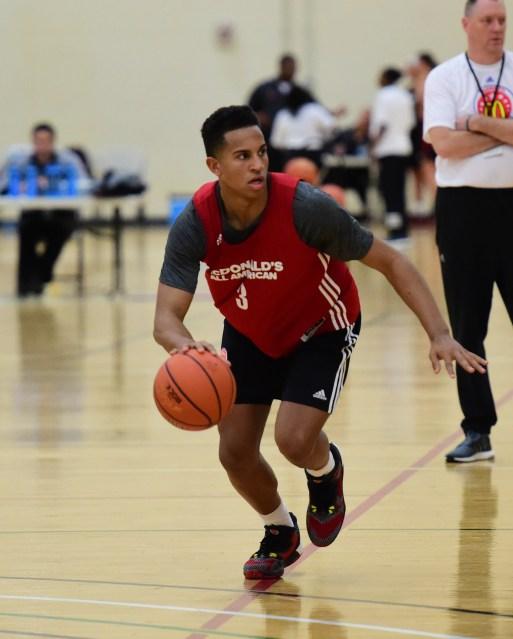 Frank Jackson will go straight to Duke after HS. (Photo: McDonald's AA)