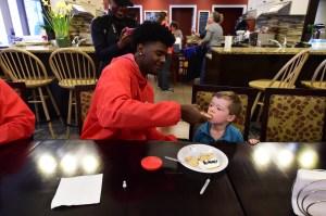 Josh Jackson said he had the most fun at the Ronald McDonald House. (Photo: McDonald's AA Game)