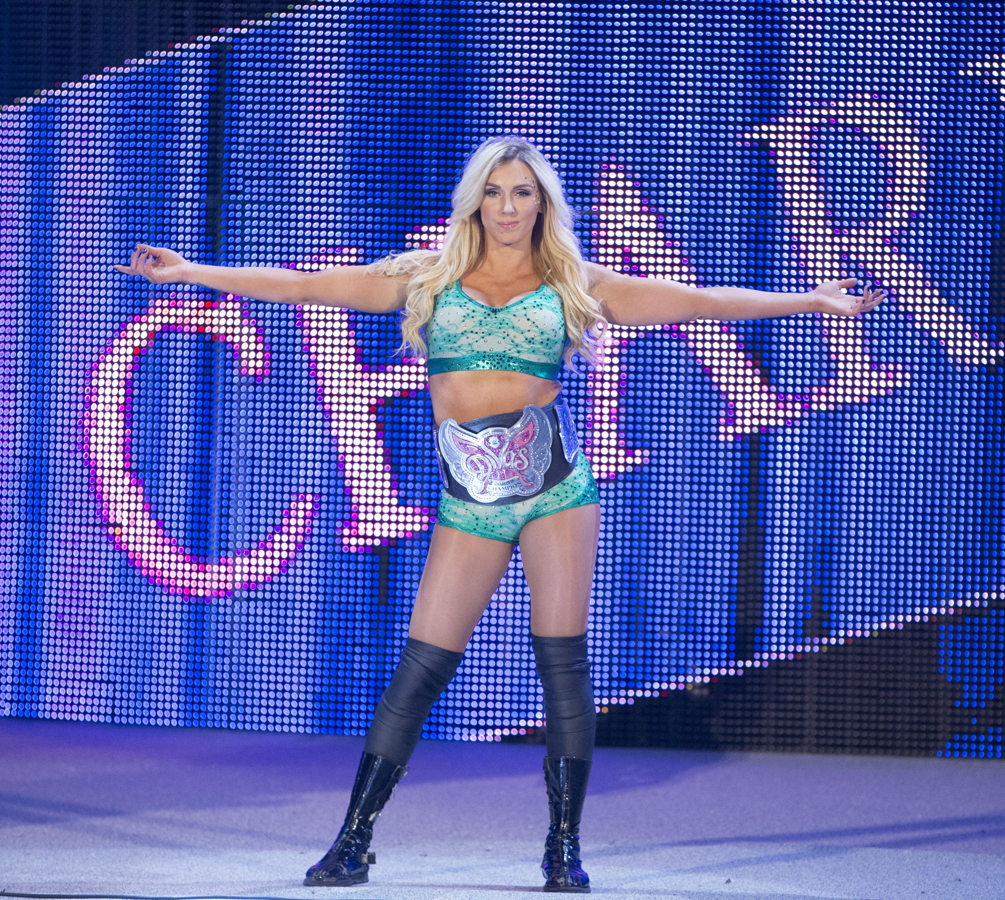 WWE Divas champion Charlotte (Photo: WWE)