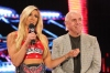 Charlotte with her father, WWE Hall of Famer Ric Flair (Photo: WWE)