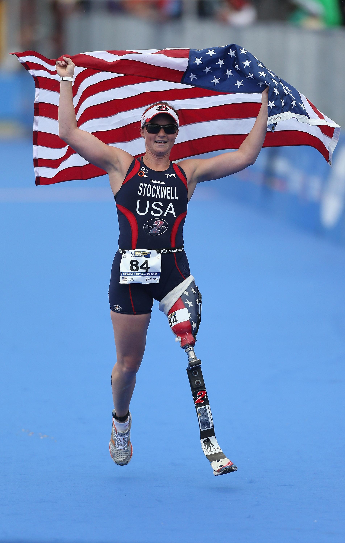 Melissa Stockwell (Photo: Sandra Mu, Getty Images)