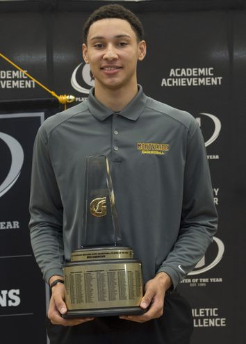 Who will follow in the footsteps of 2014-15 Gatorade Boys Basketball Player of the Year Ben Simmons? Find out first at USA TODAY High School Sports by April 1. (Photo: Susan Goldman, Gatorade)