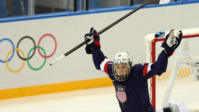 Team USA superstar Hilary Knight (Photo: USA TODAY Sports Images)