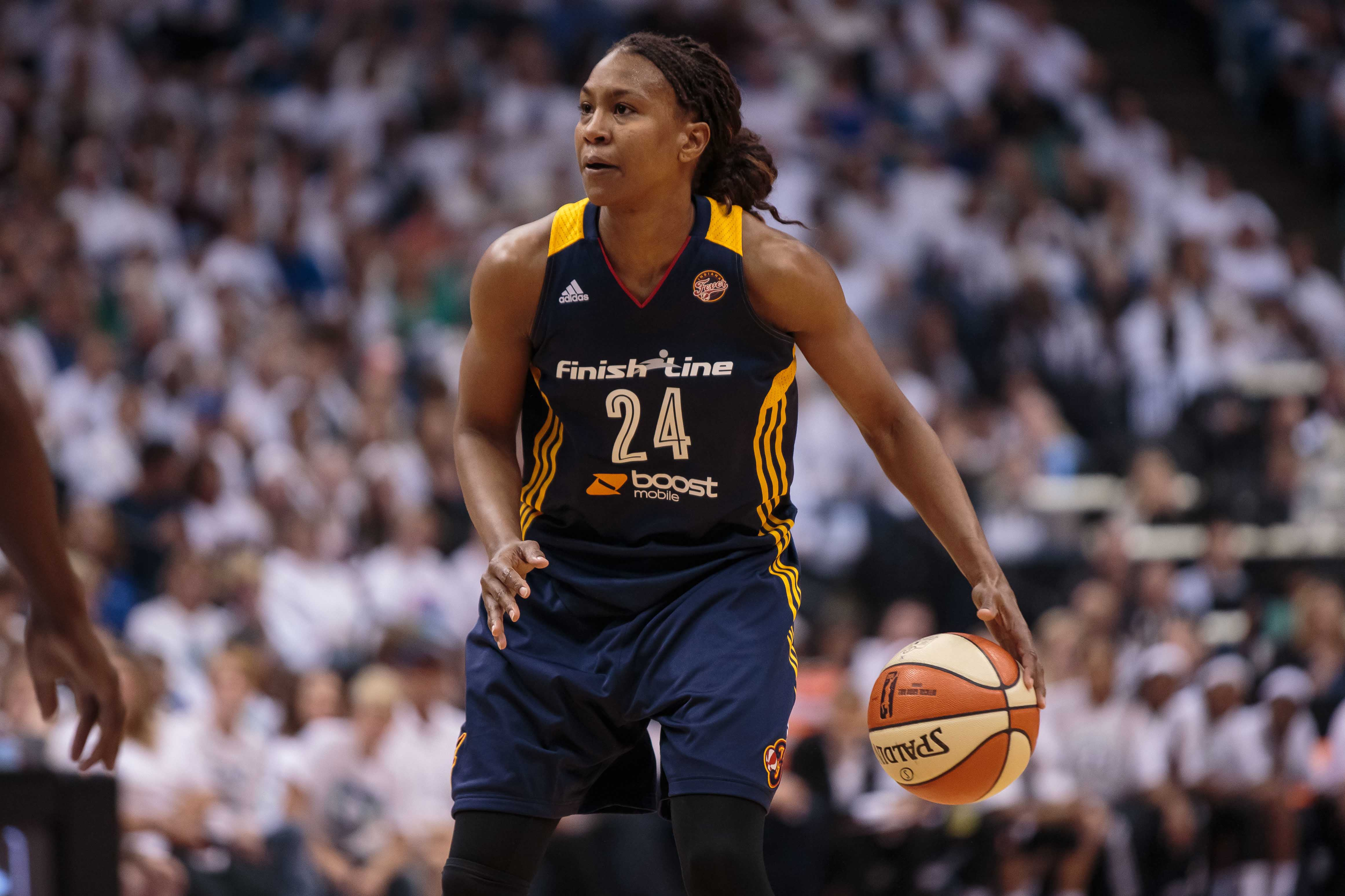 Indiana Fever forward Tamika Catchings (24). (Photo: Brad Rempel, USA TODAY Sports)