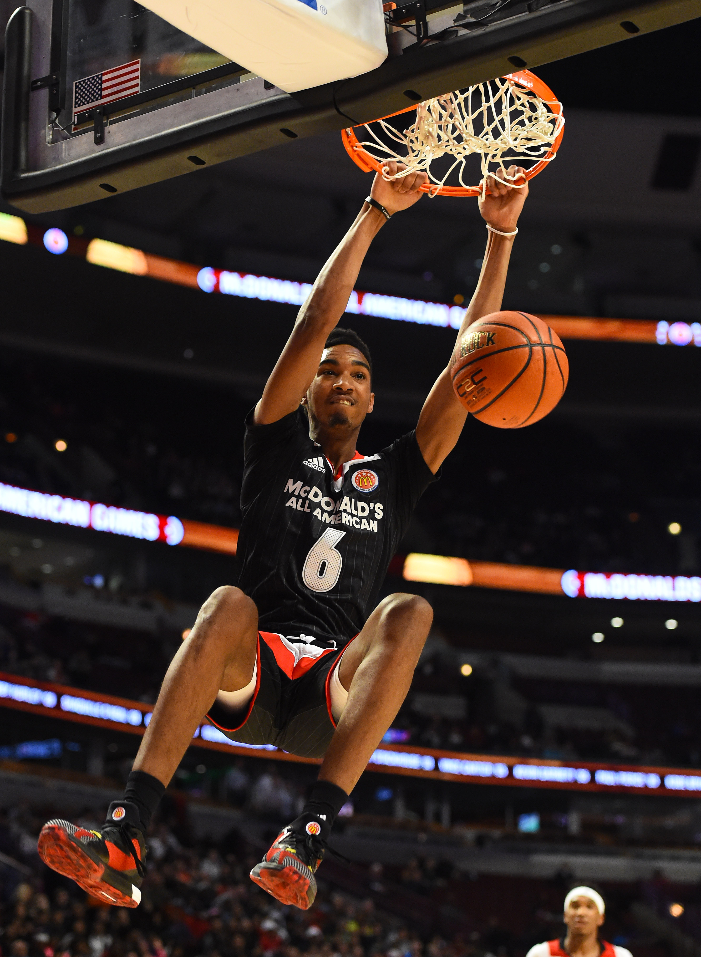 Terrance Ferguson dunks during the McDonald's All American Game (Photo: Mike DiNovo, USA TODAY Sports)