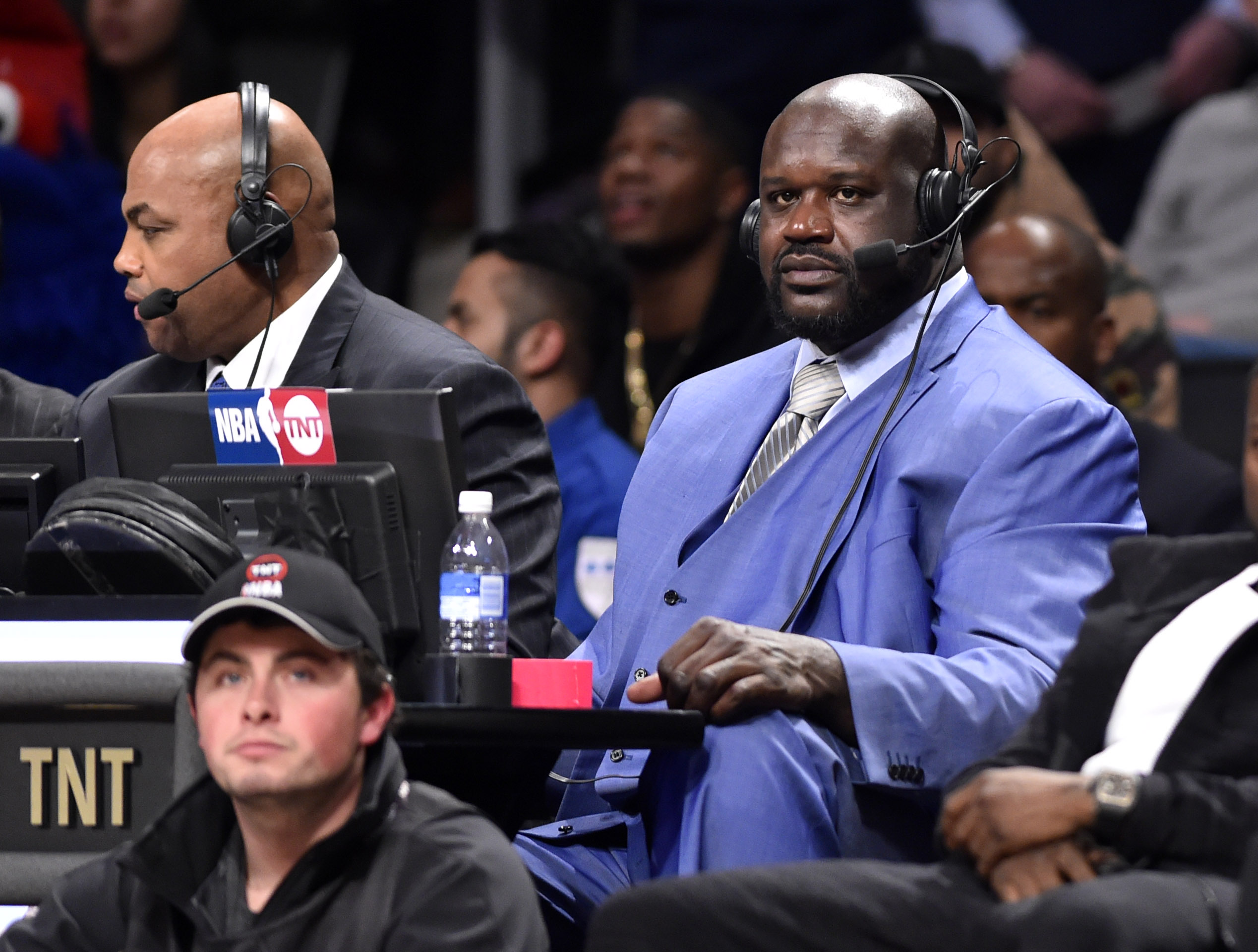 Shaquille O'Neal during the NBA All Star Saturday Night at Air Canada Centre. (Photo: Bob Donnan, USA TODAY Sports)
