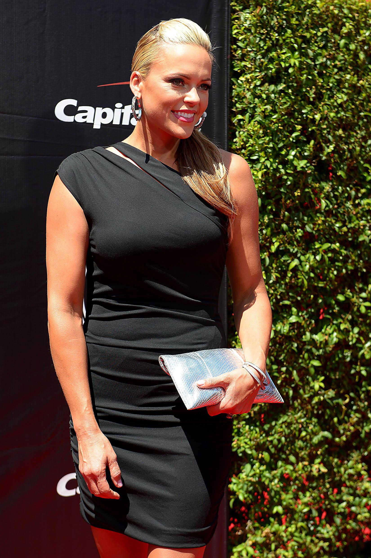 Jennie Finch before the 2015 ESPY's award (Photo: Jayne Kamin-Oncea, USA TODAY Sports)