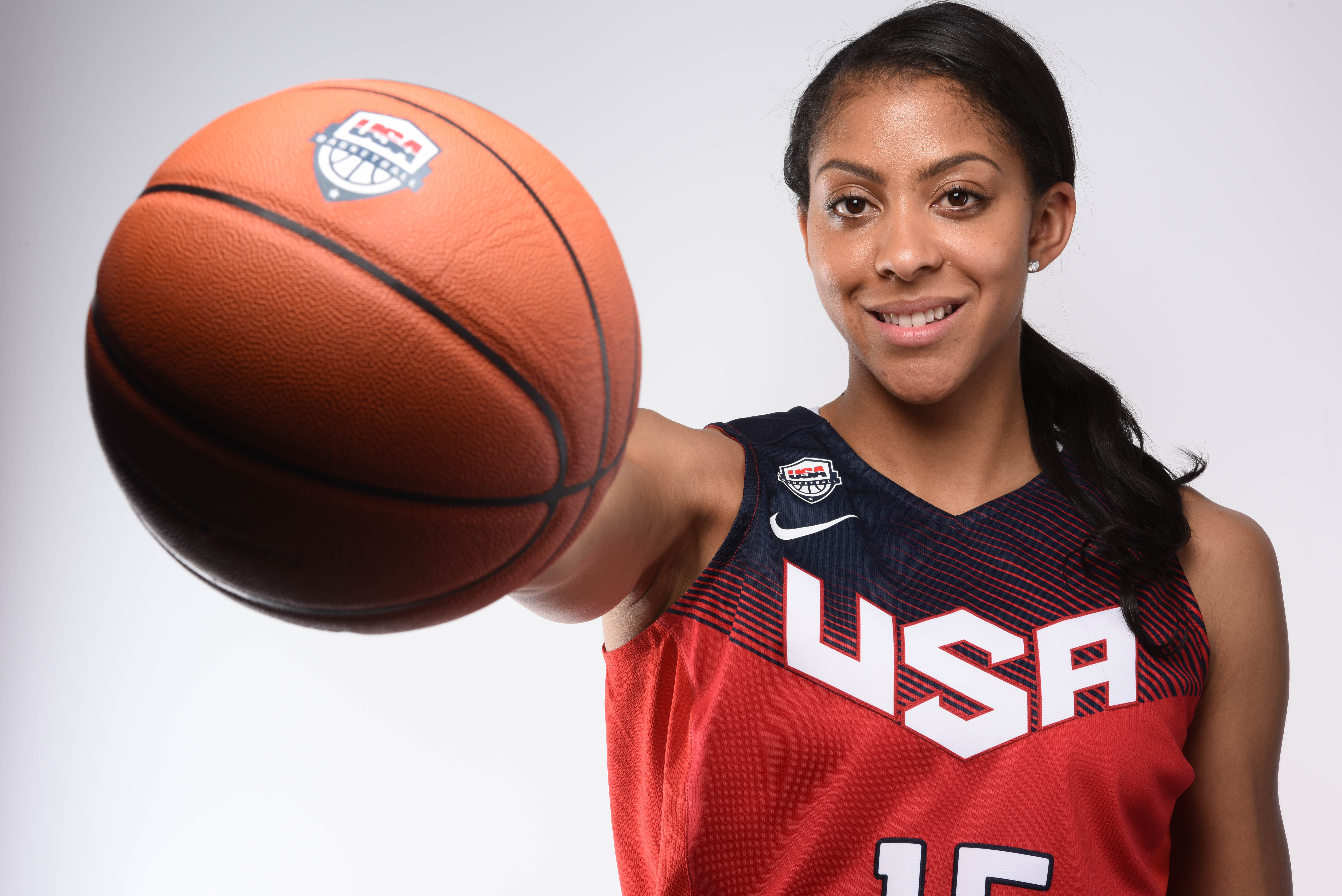 Two-time Olympian Candace Parker is heading to Rio in hopes of winning her third Olympic gold (Robert Hanashiro, USA TODAY Sports)