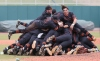 Huntington Beach players celebrate the National High School Invitational (Photo:  Mark Dolejs, USA TODAY Sports Images)