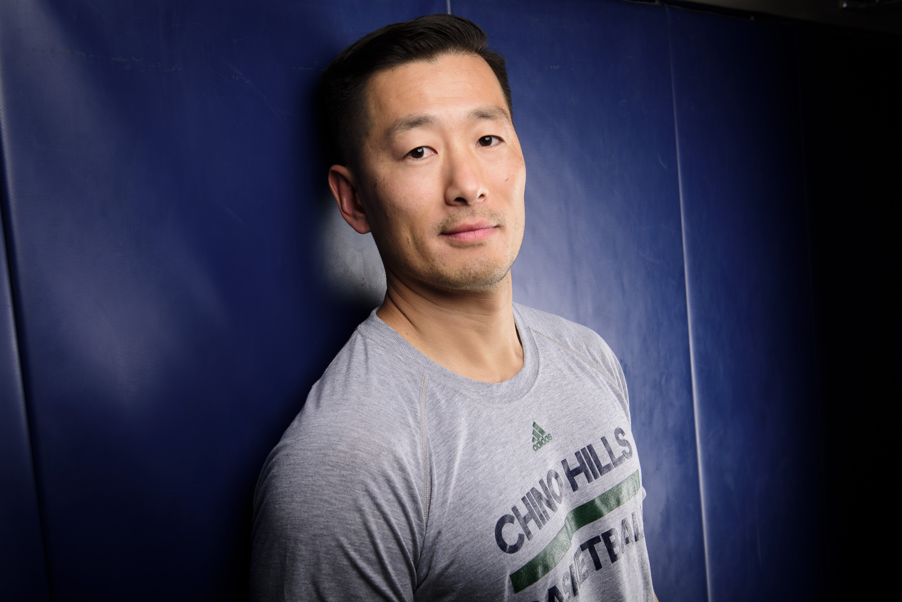 3/23/16 15:37:42 -- Chino Hills, CA, U.S.A -- Steve Baik of Chino Hills, CA is one of our ALL USA TODAY basketball coaches of the year candidates. -- Photo by Kelvin Kuo-USA TODAY Sports Images, Gannett ORG XMIT: US 134654 Steve Baik 3/22/2016 [Via MerlinFTP Drop]