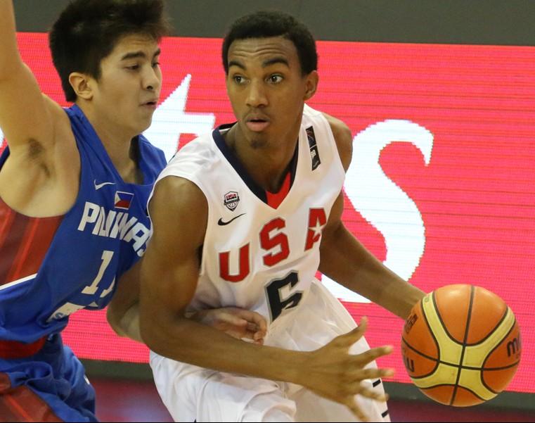 Terrance Ferguson's HS coach says he's not headed overseas. Photo: USA Basketball)