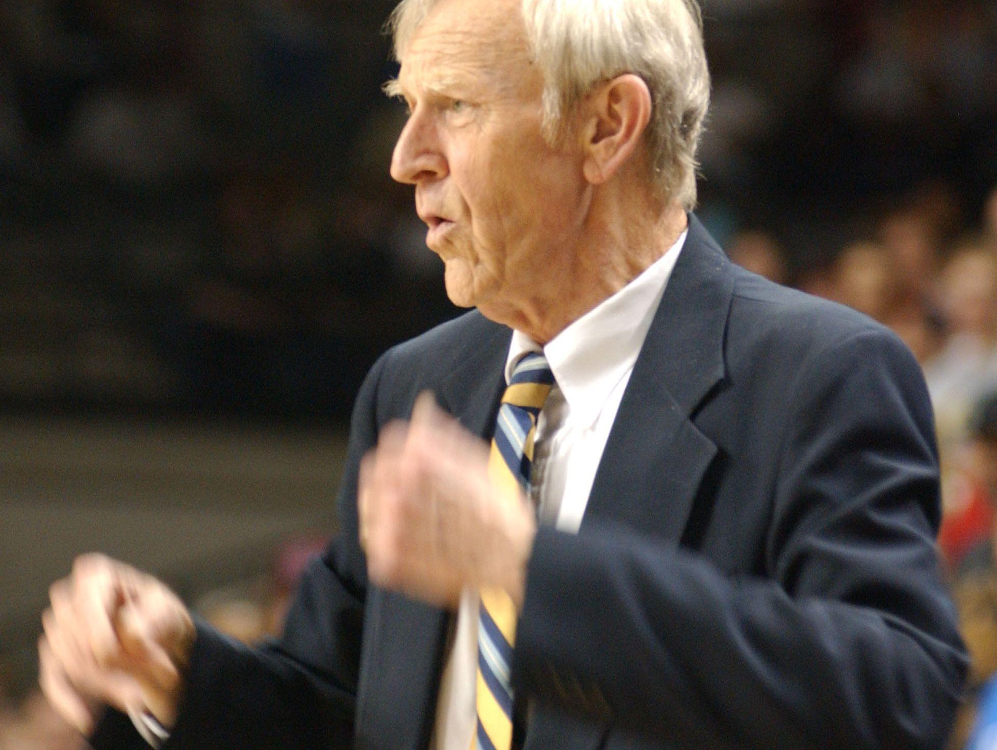 Former Robert E. Lee coach Paul Hatcher in this 2006 photo.
