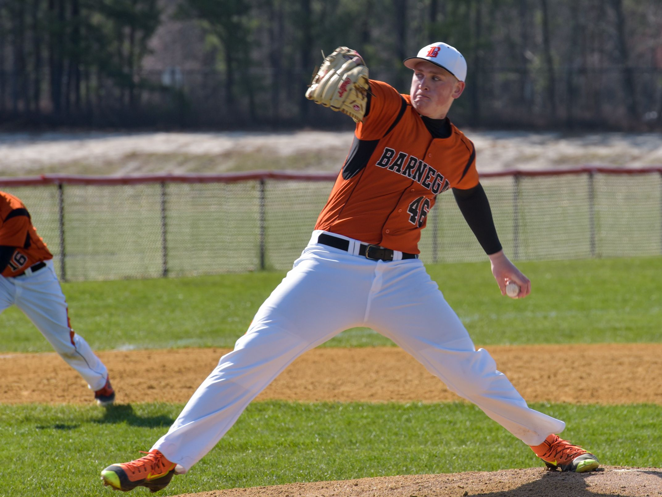 Barnegat senior left-hander Jason Groome had a successful return to the mound Saturday in an Ocean County Tournament first round game.
