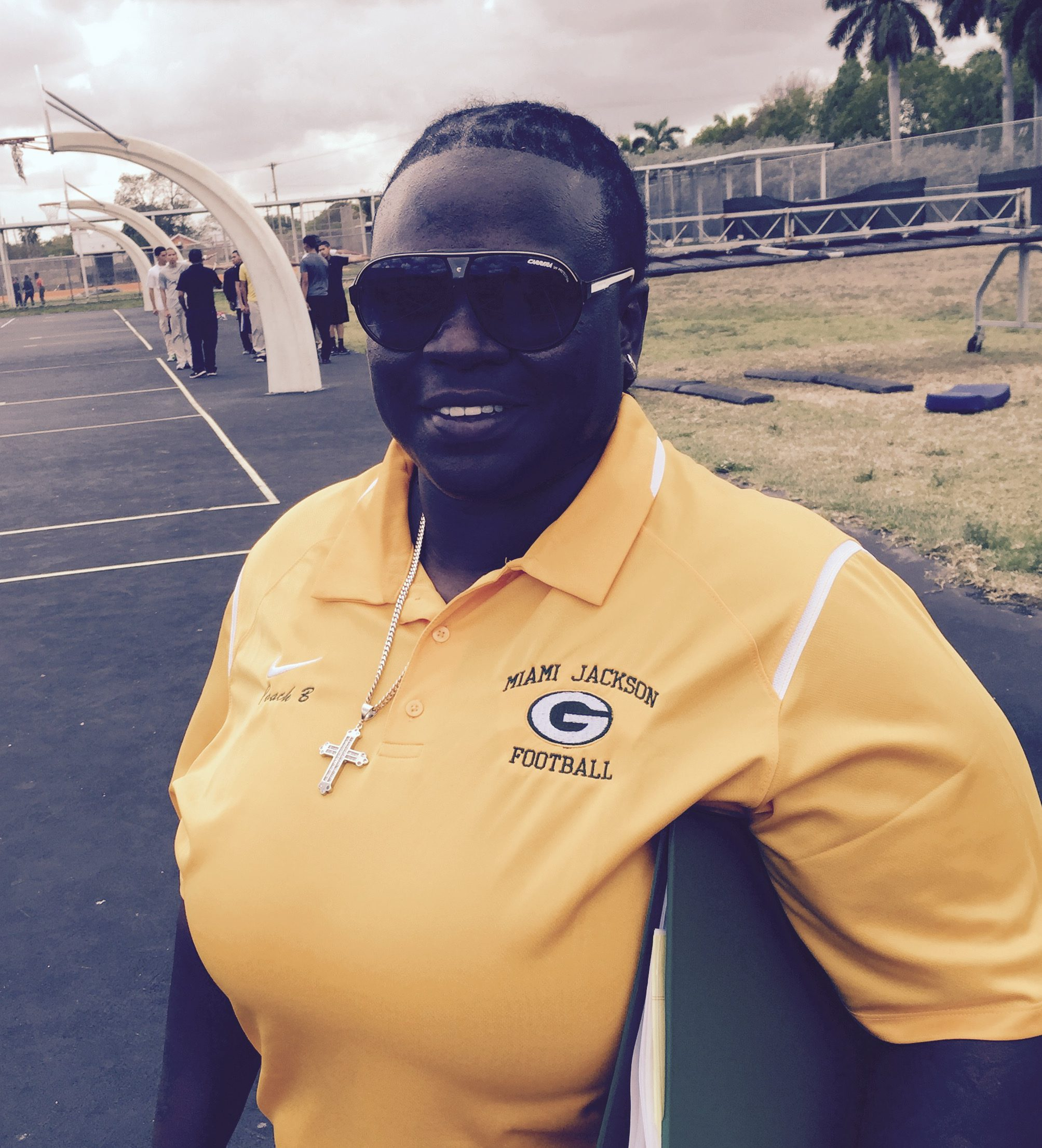 "Miami Jackson High coach Lakatriona ""Bernice"" Brunson (Photo: Walter Villa, Special for USA TODAY Sports)"