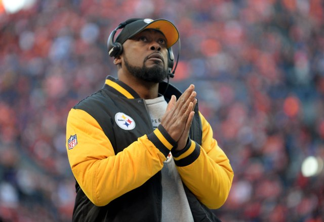 Steelers head coach Mike Tomlin spoke candidly about the concussion problem in football. (Ron Chenoy/USA TODAY Sports)