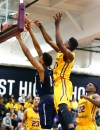 Montverde Academy forward Bruno Fernando (21) defends against a shot by La Lumiere center James Banks. (Photo: Andy Marlin, USA TODAY Sports)