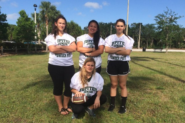 Jupiter High School in Florida has canceled what is believed to be the last tackle powder puff football game in America (Photo: Terry Spencer/Associated Press)