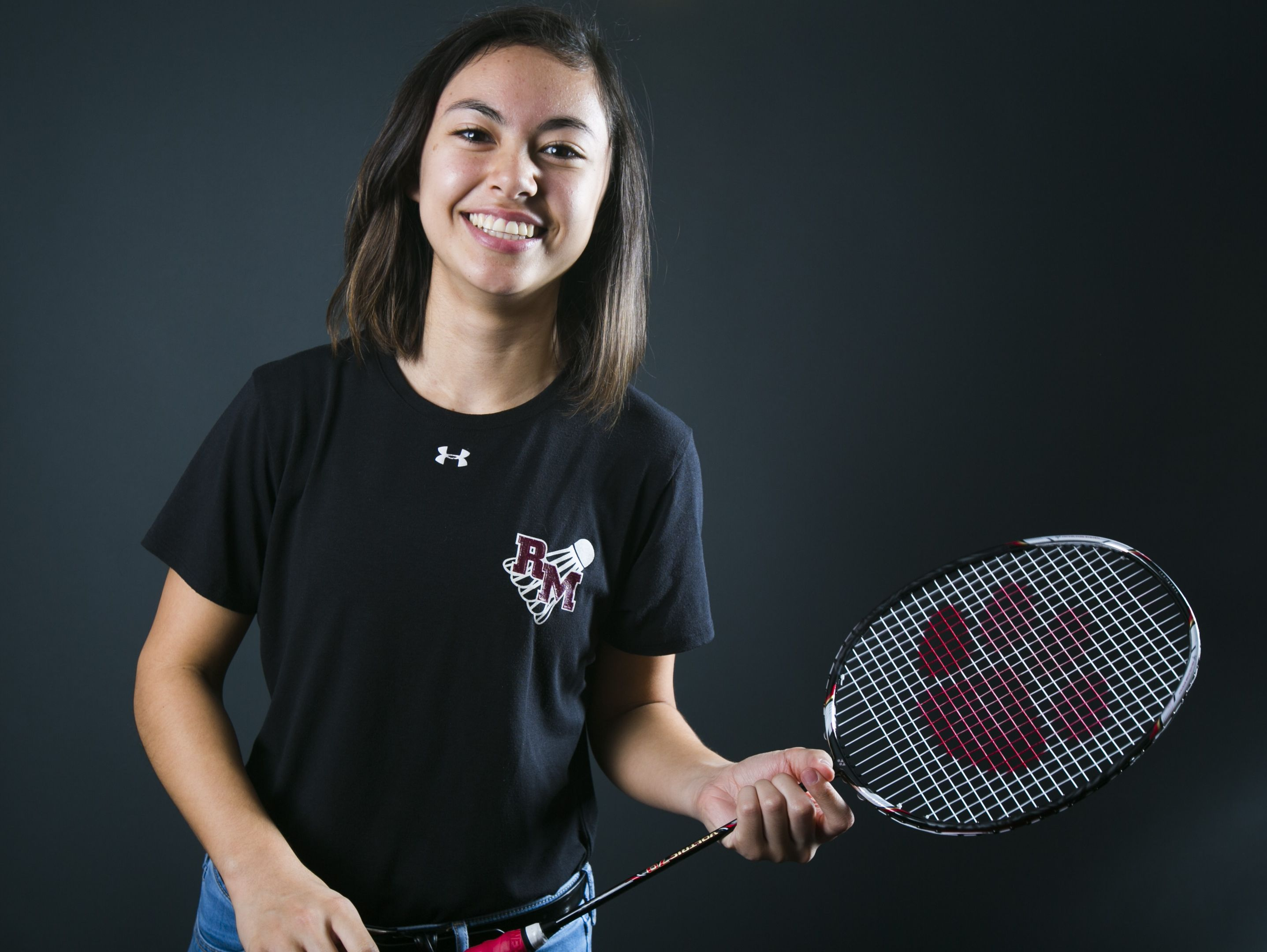 Mesa Red Mountain's Samantha Berg is azcentral sports' October Athlete of the Month. She plays both Badminton and Tennis.