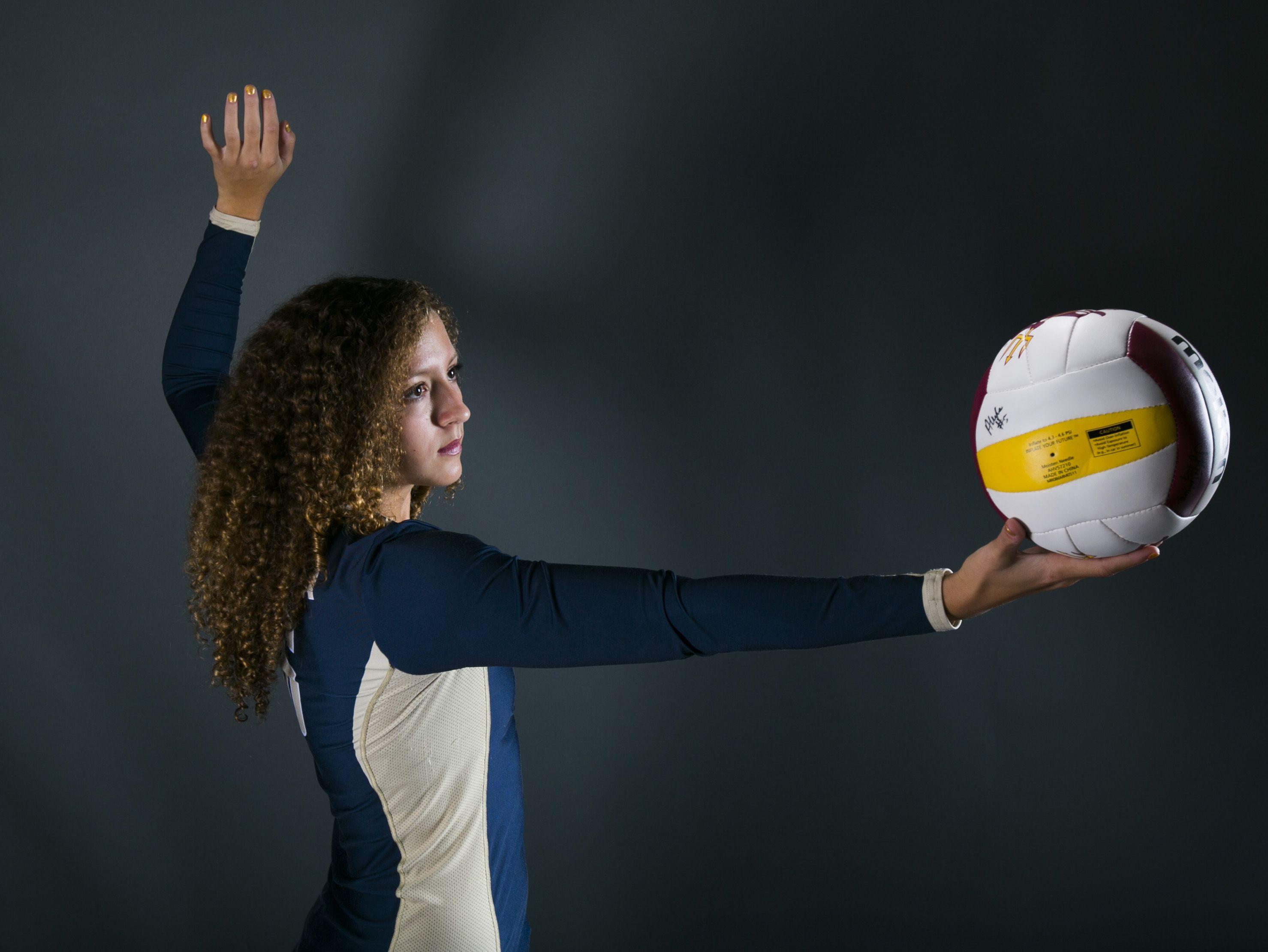 Phoenix Desert Vista's Olivia Fairchild is azcentral sports' runner-up October Athlete of the Month.