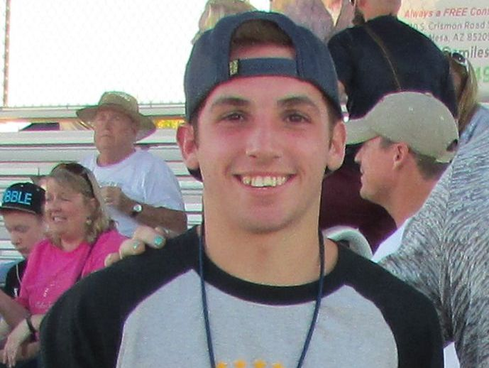 Keller Adair, from Mesa High School, is azcentral sports' Male Athlete of the Week for Nov. 5-12.