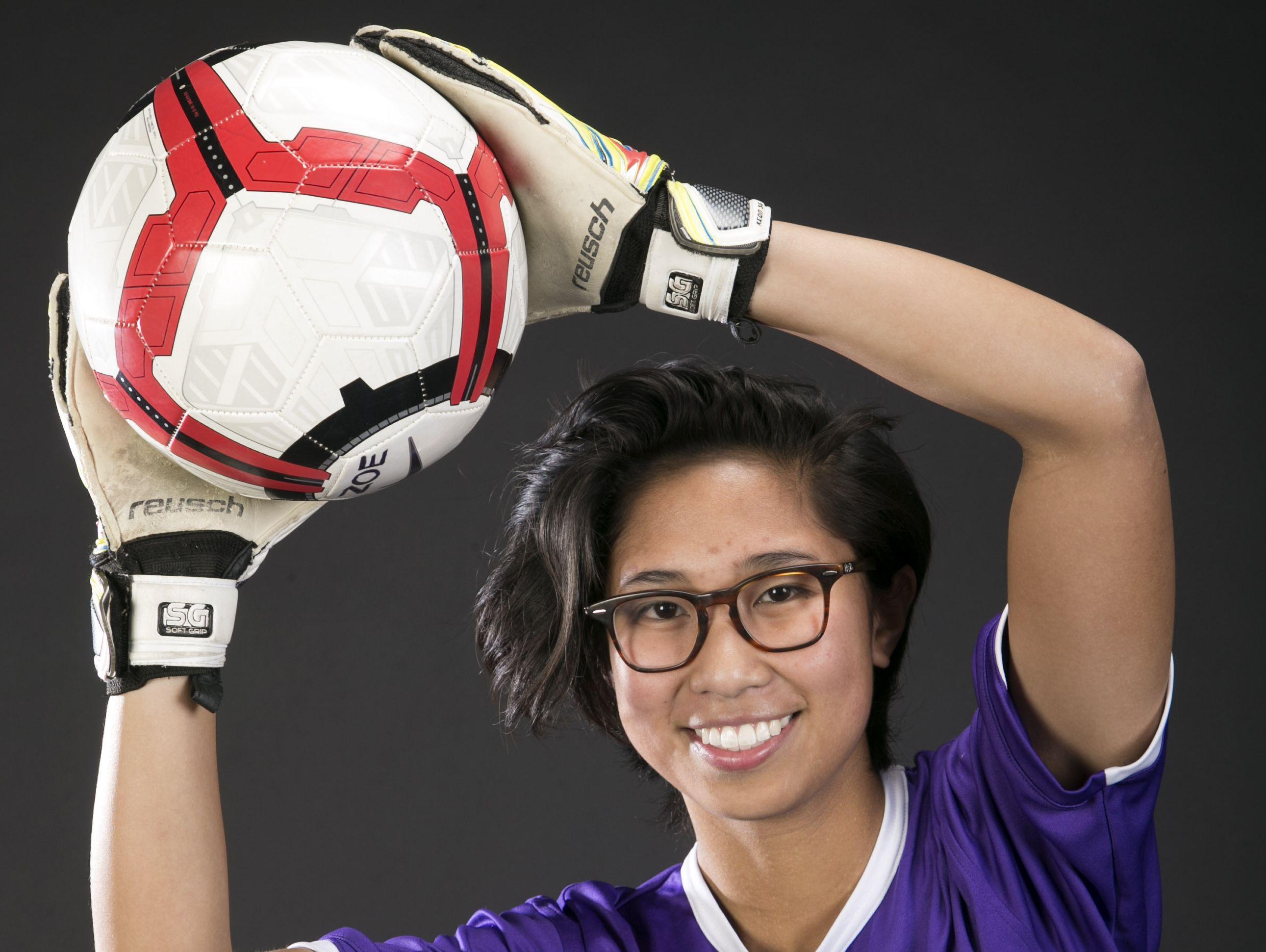 Chandler Arizona College Prep soccer player Zoe Agundo is an Arizona Sports Awards December Athlete of the Month runner-up.