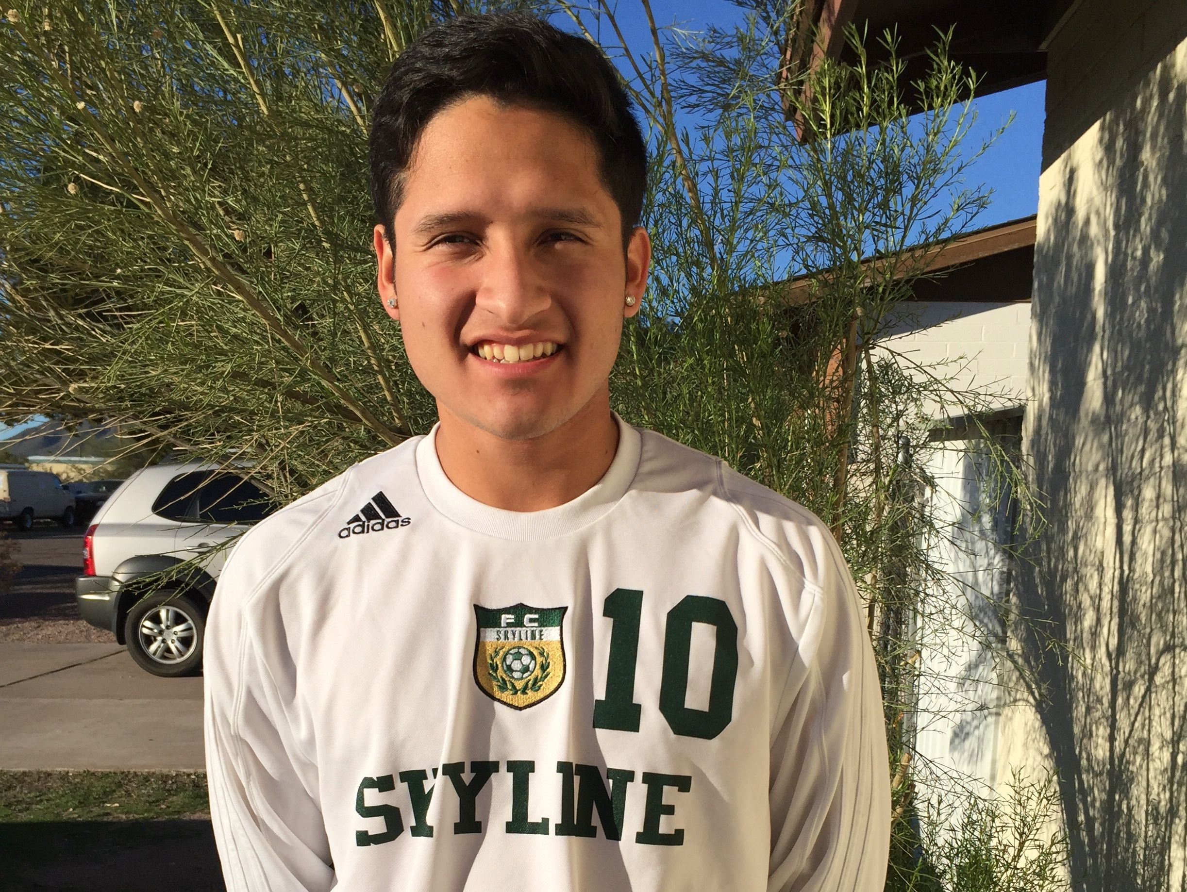 Alejandro Segura, from Mesa Skyline, is azcentral sports' Male Athlete of the Week for Jan. 28 - Feb. 4, presented by La-Z-Boys Furniture Galleries.