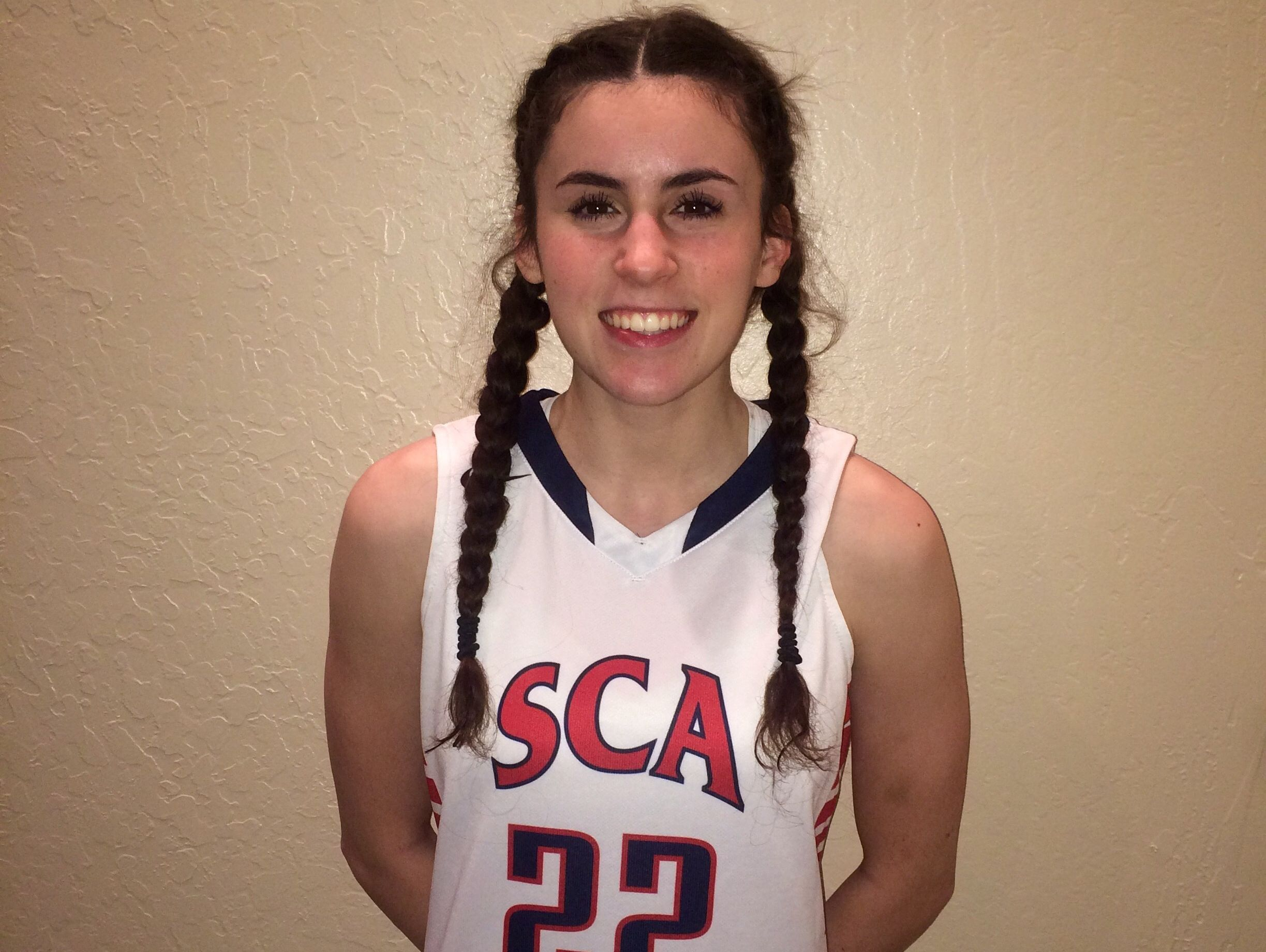 Jacqueline Iafrate, from Scottsdale Christian Academy, is the Arizona Sports Awards High Achiever of the Week for Feb. 18-25.