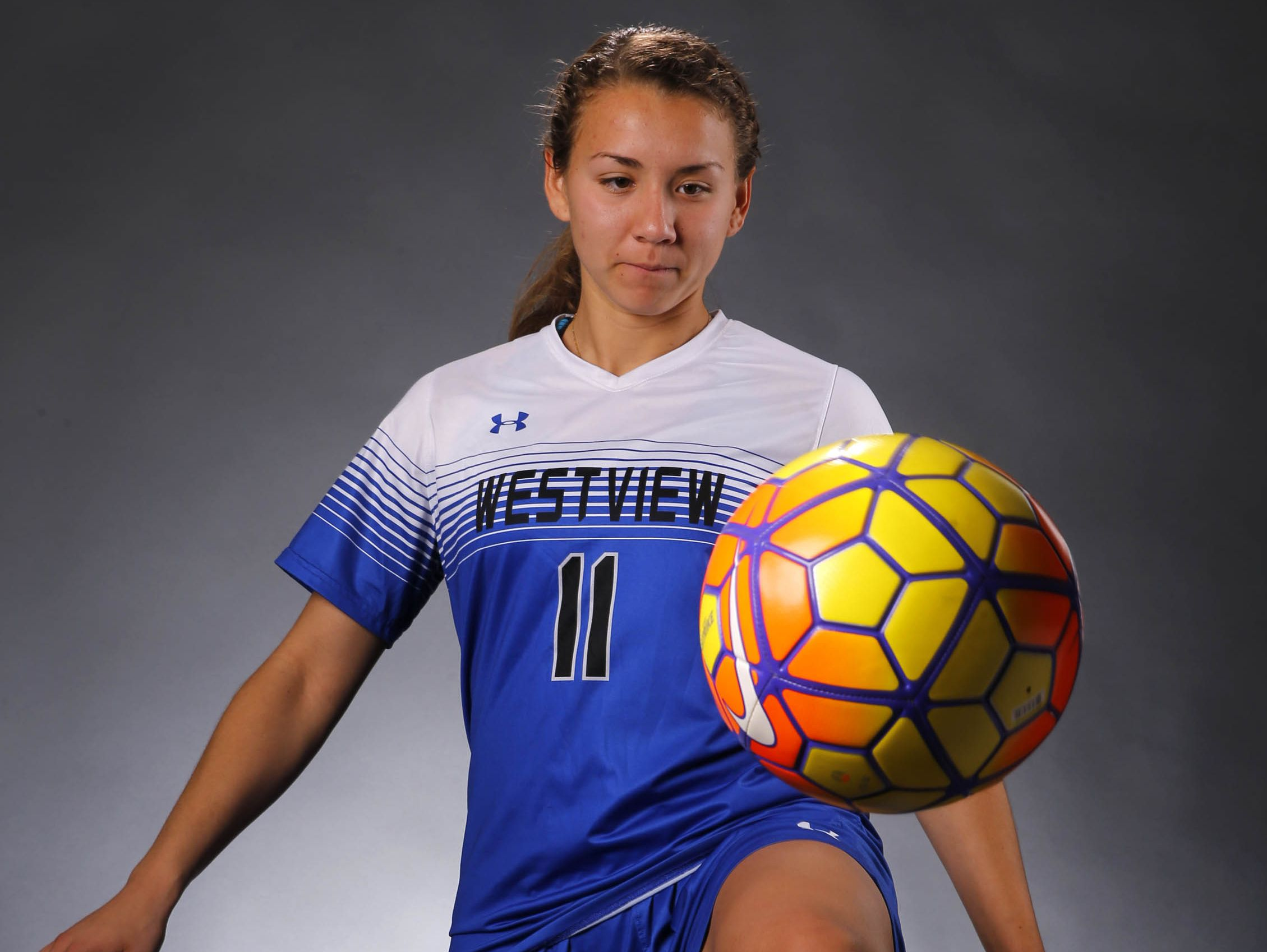 Olivia Hernandez, Avondale Westview senior soccer player, is the azcentral sports' Arizona Sports Awards Athlete of the Month runner-up, presented by La-Z-Boy Furniture Galleries.