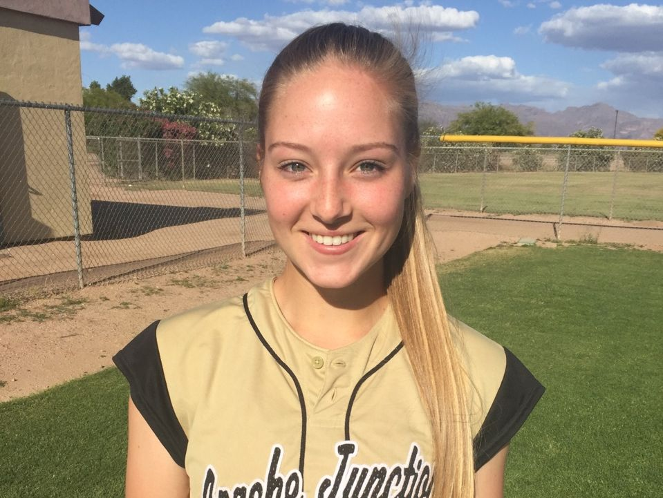 Kayla Pettis-Miller, from Apache Junction, is azcentral sports' Arizona Sports Awards Female Athlete of the Week, presented by La-Z-Boy Furniture Galleries, for March 24-31.