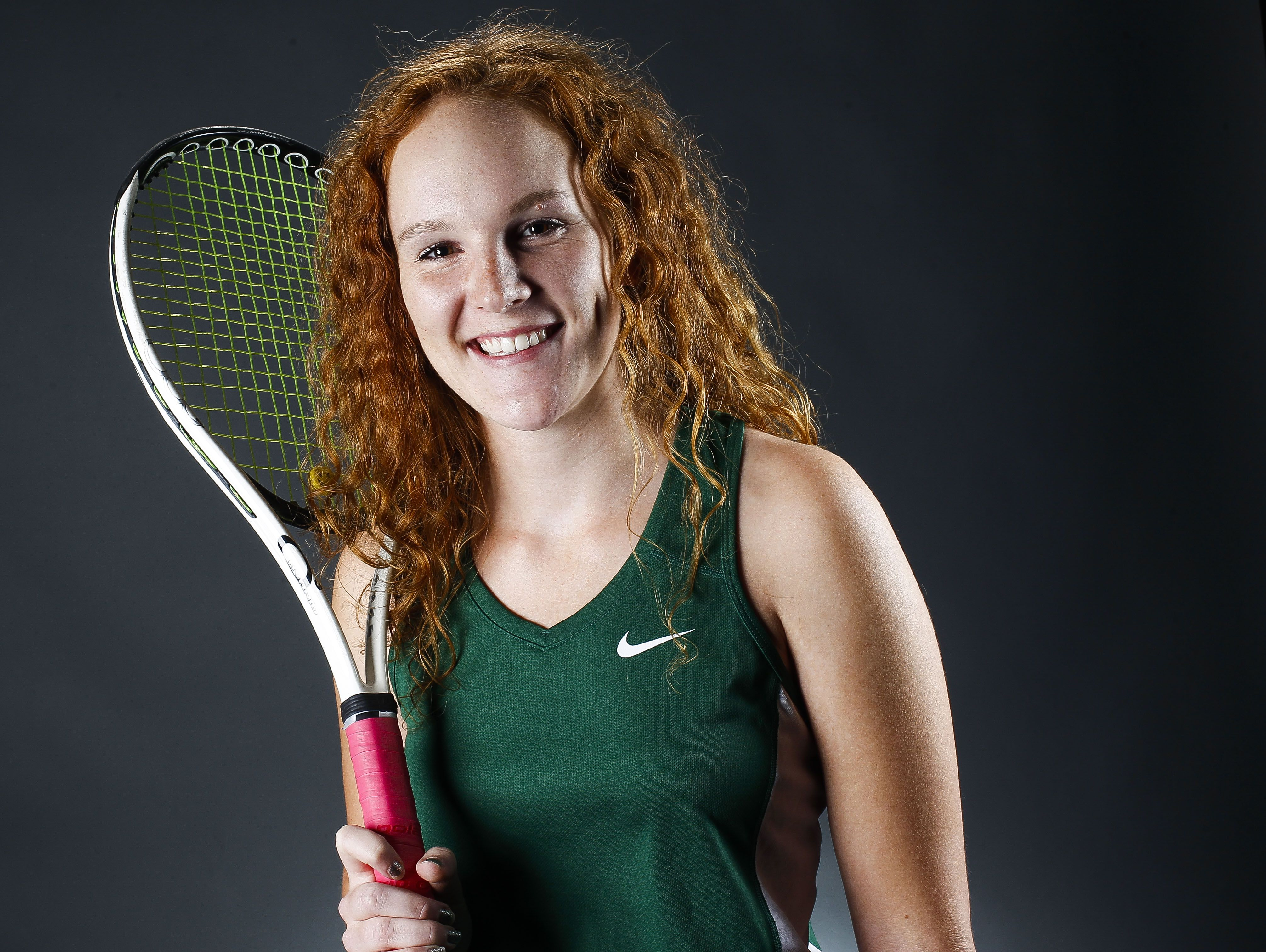 Phoenix Sunnyslope senior tennis player Libby Fleury is an Arizona Sports Awards April Athlete of the Month runner-up, presented by La-Z-Boy Furniture Galleries.