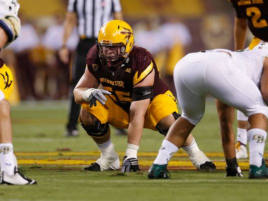 Arizona State offensive lineman Christian Westerman. (Photo: Christian Petersen/Getty Images)