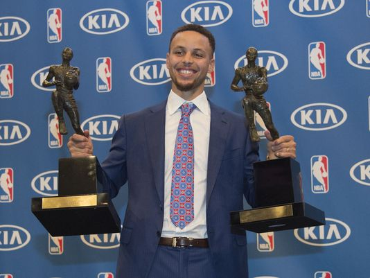 HS players say seeing Stephen Curry rise from unranked recruit to NBA MVP makes their dreams possible. (USA Today Sports)