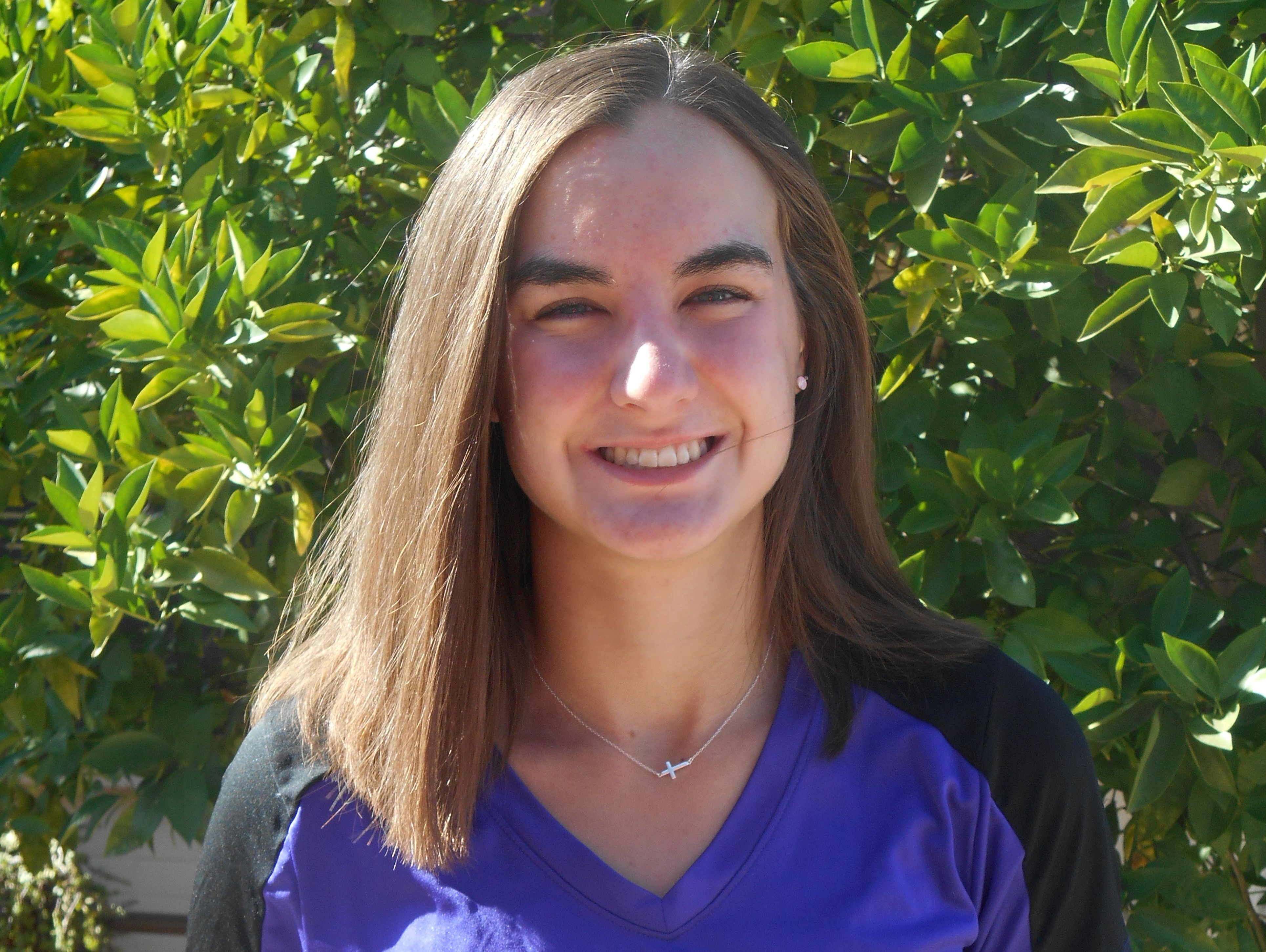 Hannah Hansen, from Chandler Arizona College Prep, is azcentral sports' High Achiever of the Week for May 5-12.
