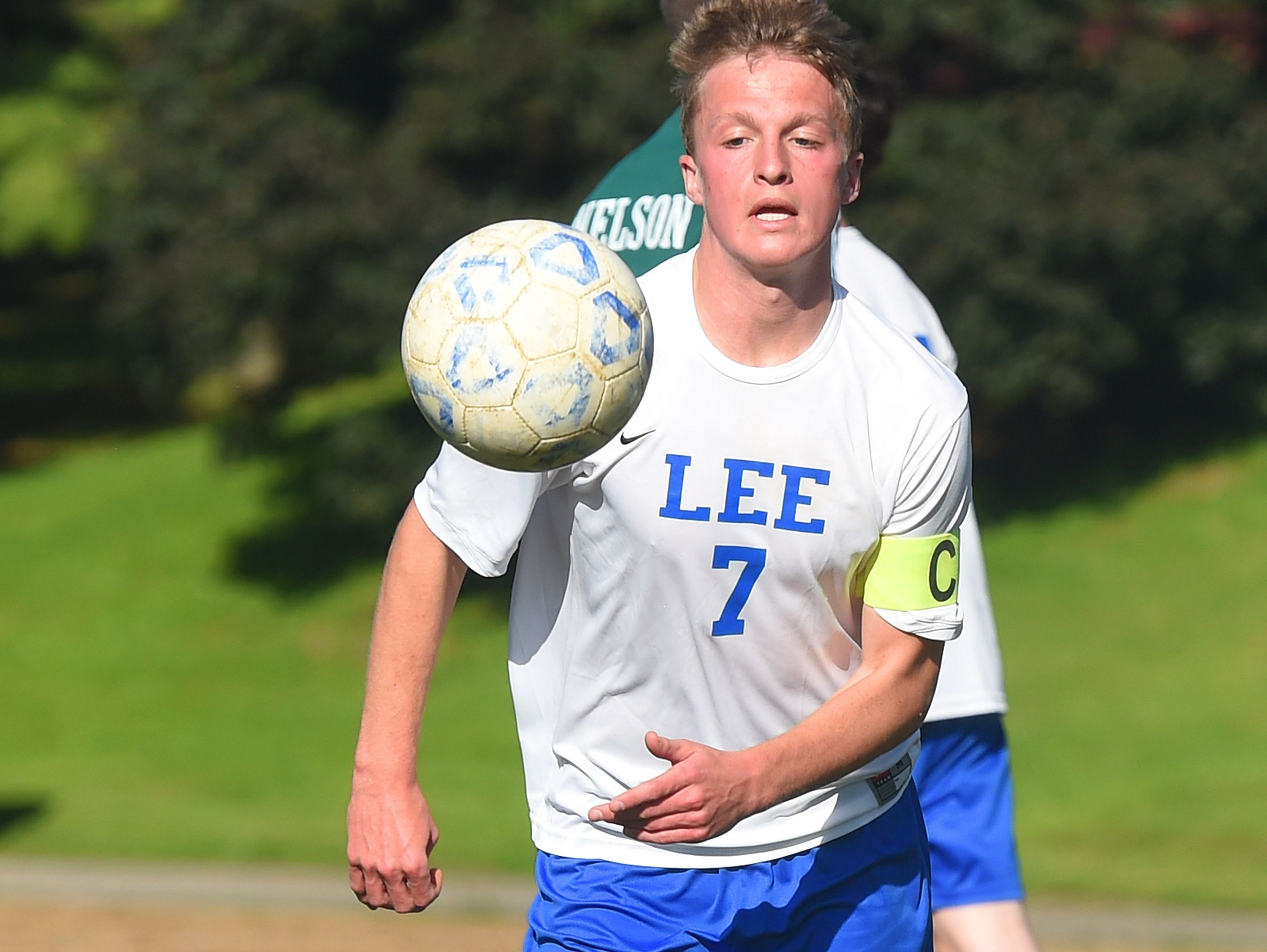 Robert E. Lee's Hunter Otteni was named a first-team midfielder on the All-Valley District Boys Soccer Team.