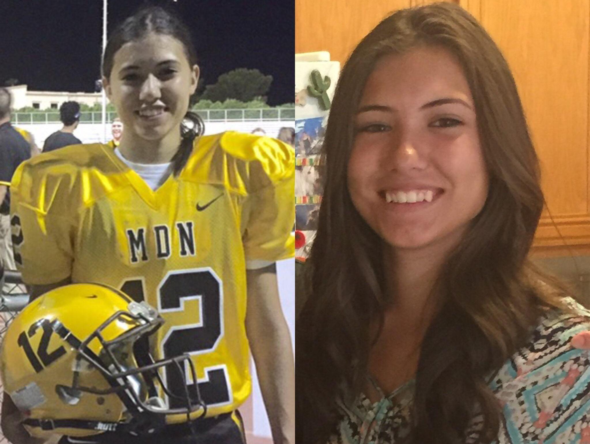 Krysten Muir, Marcos de Niza High School's kicker, is azcentral sports' Female Athlete of the Week.