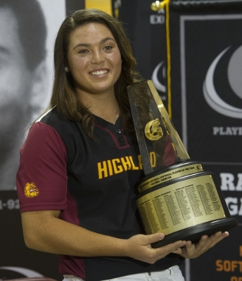 Who will follow in the footsteps of 2014-15 Gatorade Softball Player of the Year Rachel Garcia? Find out first at USA TODAY High School Sports this June. (Photo: Susan Goldman, Gatorade)
