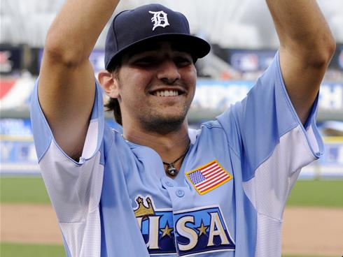 Two years after being named a second-team ALL-USA player, Nick Castellanos was the MVP of the 2012 Futures Game. (Photo: H. Darr Beiser, USA TODAY Sports).