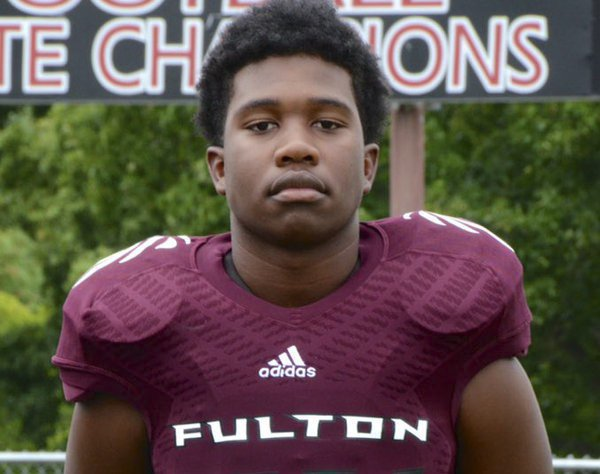 Zaevion Dobson, 15-year-old Fulton High School student fatally shot on Dec. 17, 2015, in the 2700 block of Badgett Drive. (FULTON HIGH SCHOOL)