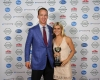 Peyton Manning with Allie Gregory during the Kentuckiana Sports Awards.June 14, 2016