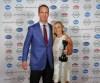 Peyton Manning with Jessica Ingram during the Kentuckiana Sports Awards.June 14, 2016