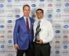 Peyton Manning with John Pedro during the Kentuckiana Sports Awards.June 14, 2016