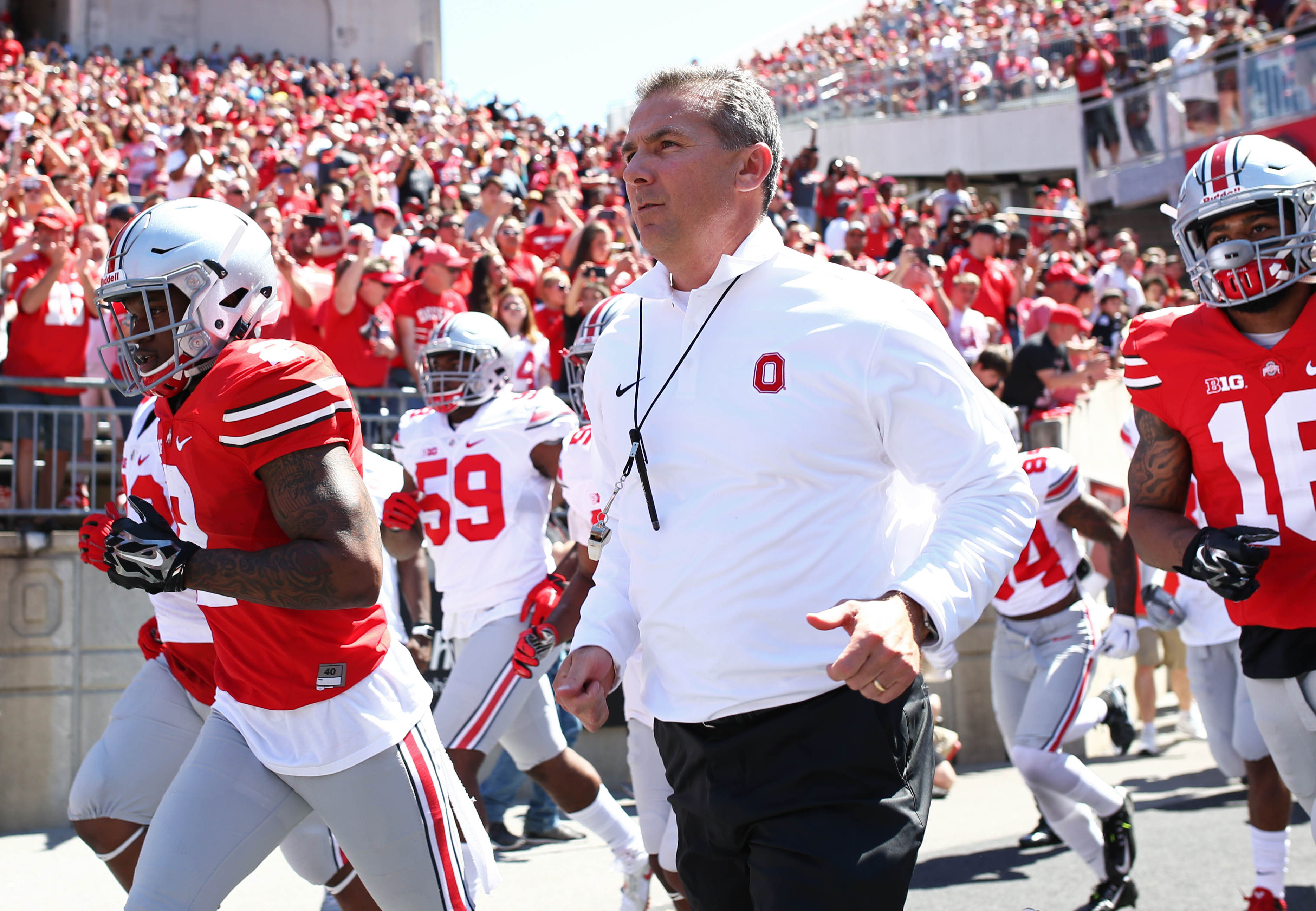 Ohio State remains No. 1 in the updated composite team rankings. (Photo: Aaron Doster-USA TODAY Sports)