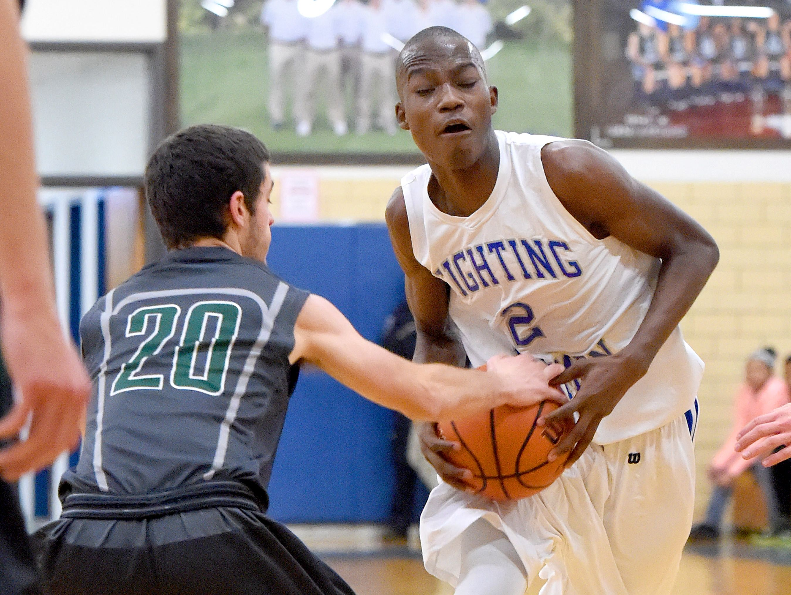 Robert E. Lee's Darius George earned first-team All-Group 2A honors and led the Leemen to a berth in the Region 2A East tournament.
