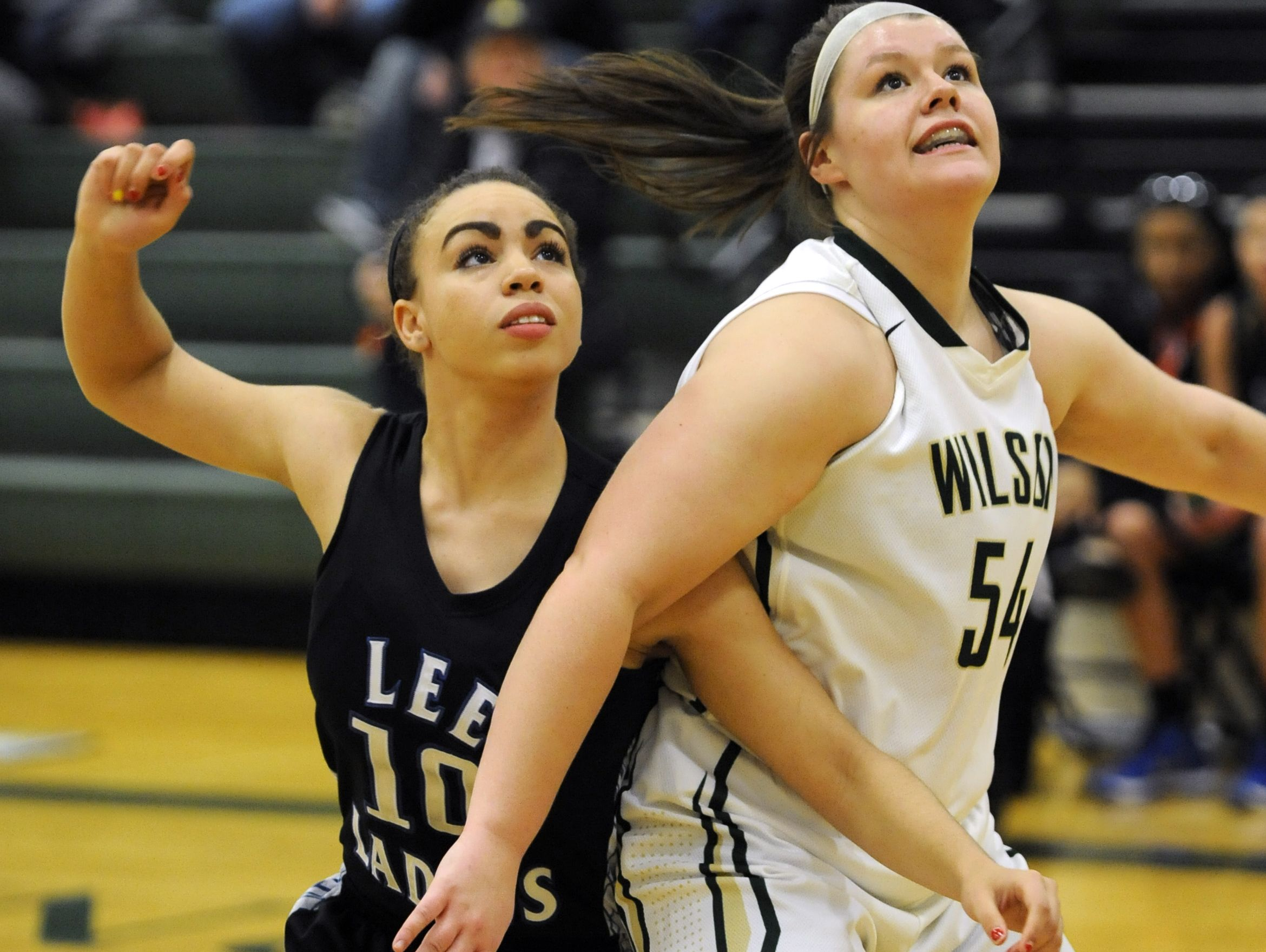 Former Wilson Memorial standout Jordan Sondrol, right, played on the same AAU team as her younger sister.