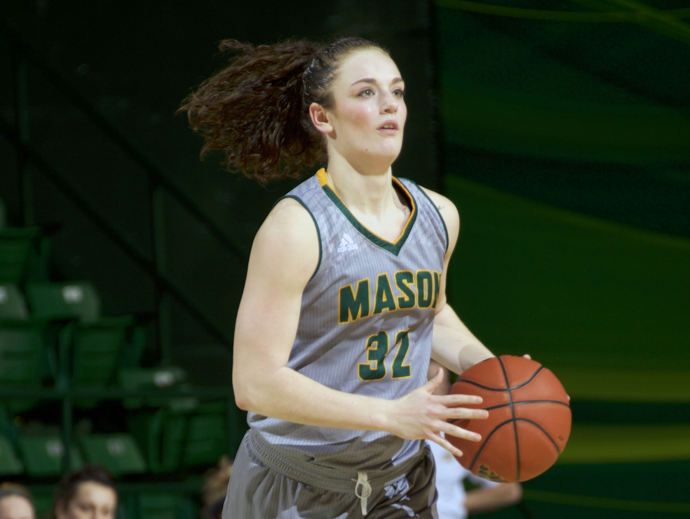 George Mason's Tayler Dodson, a former Spotswood High School standout, played for Washington, D.C-based Team Takeover in the summer and she's adamant that her grassroots experience got her a Division I scholarship.
