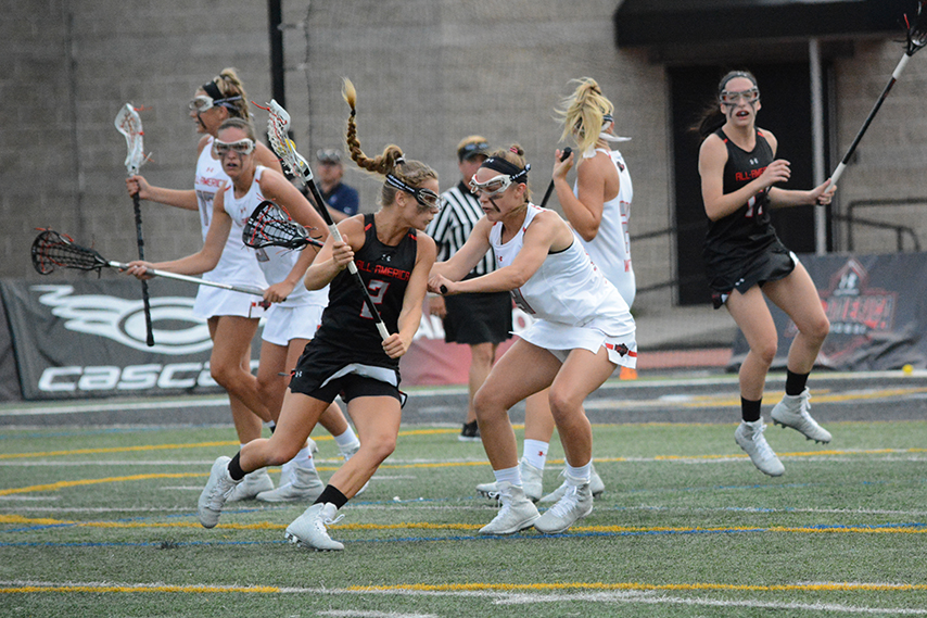 Kerrigan Miller (left) was one of the Long Island-based players to lead the North (Photo: Casey Vock, 3dRising.com)