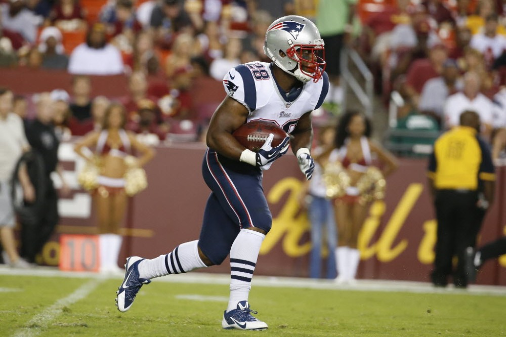 New England Patriots running back is one of nine former players from the 2008 St. Thomas Aquinas (Fort Lauderdale) team that played in the NFL last season. (Photo: Alex Brandon, Associated Press).